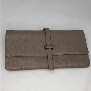 Annabel Ingall Charlotte Large Leather Clutch Bag